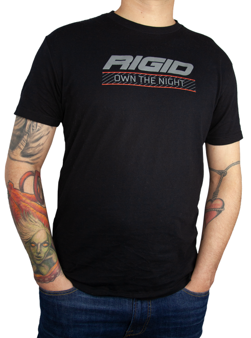 Rigid Industries Own The Night T Shirt X Large Black RIGID 1060