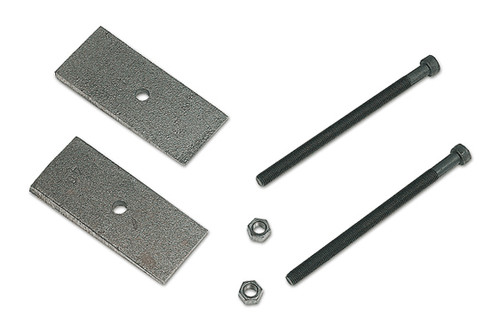 Tuff Country 2 Degree Axle Shims 2 Inch Wide With 3/8 Inch Center Pins Pair 90012