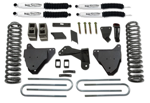 Tuff Country  5 Inch Lift Kit 08-16 Ford F250/F350 Super Dutyw/Replacement Radius Arm Drop Brackets and SX8000 Shocks 25976KN