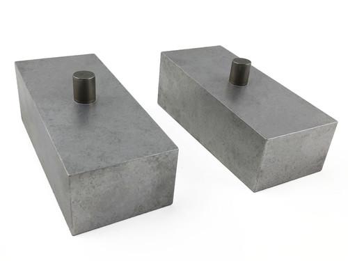 Tuff Country 2 Inch Aluminum Lift Blocks 04-15 Nissan Titan 4WD Pair 79068