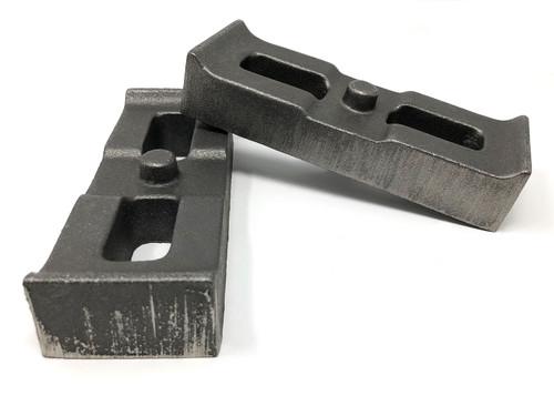 Tuff Country 1 Inch Cast Iron Lift Blocks 01-10 Silverado 4WD/GMC Sierra 2500HD/3500HD 4WD Pair 79064