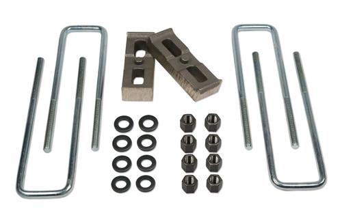 Tuff Country 1 Inch Rear Block & U-Bolt Kit 11-19 Silverado/Sierra 2500HD/3500/3500HD 4WD 97090