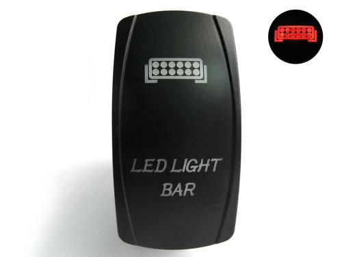Lifetime LED Lights DPDT LED Light bar switchLifetime LLLDPDT40003LBS