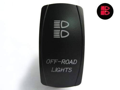 Lifetime LED Lights DPDT Off-Road Lights Switch Lifetime LLLDPDT40002ORL