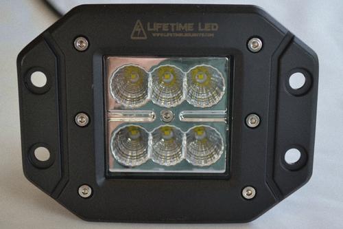Lifetime LED Lights 3 Inch Flush Mount LED 30 Watt Lifetime LLL-30-3-FLUSH
