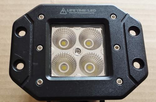 Lifetime LED Lights 3 Inch Flush Mount Off Road Lights 20 Watt Lifetime LLL20-3-FLUSH