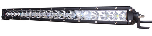 Lifetime LED Lights 20 Inch LED Light Bar Single Row Flood Pattern Lifetime LLL100-5w-9000-F