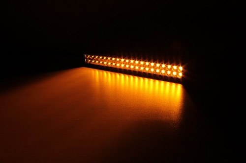 Lifetime LED Lights 21.5 Inch 120W Amber/White LED Light Bar Lifetime LLL120-10200-AW-2