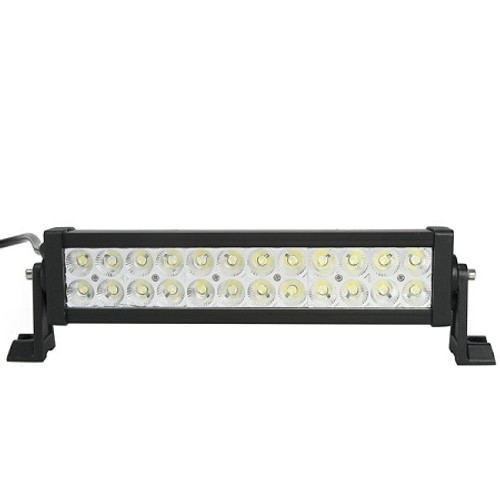 Lifetime LED Lights 13 Inch LED Light Bar Dual Row 24 LEDS Spot Pattern Lifetime LLL72-4300-S