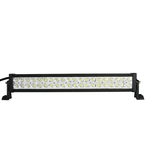 Lifetime LED Lights 21.5 Inch 40 LED Light Bar Dual Row Combo Pattern Lifetime LLL120-7200-C