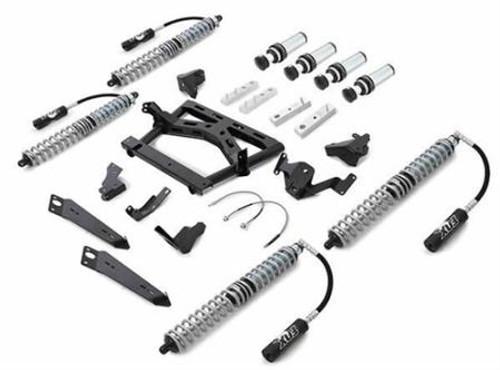 Rubicon Express 3.5 Inch JK Lift Kit Extreme Duty Long Arm System 4 Link Front 3 Link Rear No Shocks 07-18 Jeep Wrangler JKU 4 Dr JK4343