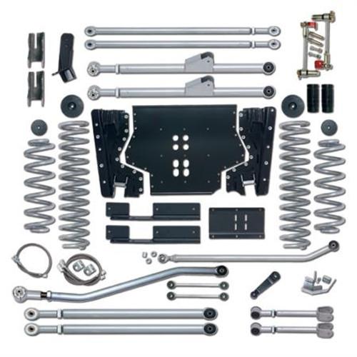 Rubicon Express 3.5 Inch LJ Lift Kit Extreme Duty Long Arm System No Shocks 04-06 Wrangler LJ RE7223