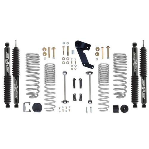 Rubicon Express 2.5 Inch Progressive Coil Lift Kit with Twin Tube Shocks 07-12 Jeep Wrangler JK RE7141PT