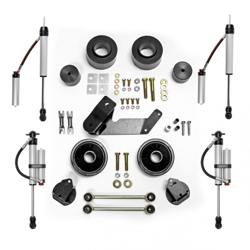 Rubicon Express 2.5 Inch Spacer Lift Kit with Monotube Reservoir Shocks 07-18 Jeep Wrangler JK 2 and 4 Door RE7133MR