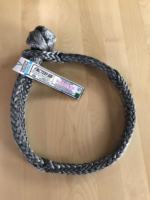Factor 55 10 Inch Soft Shackle 7/16 Diameter Standard Duty Gray *00069