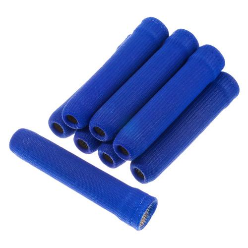 Heatshield Products Insul-Boot Spark Plug Boot Heat Socks 1 Inch ID X 6 Inch 8 Pack Blue 400802