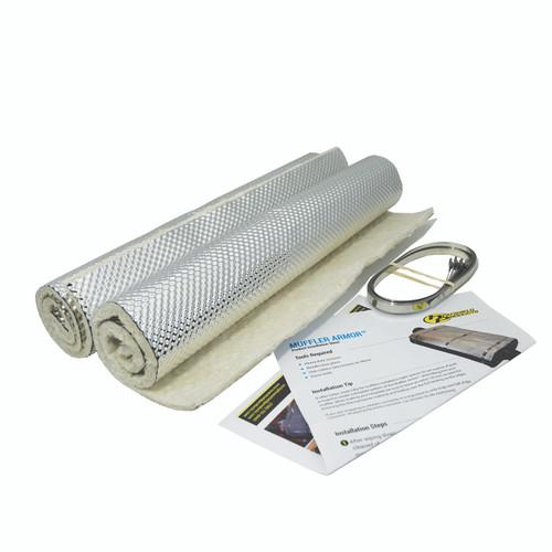 Heatshield Products Muffler Heat Shield Armor Kit 14 Inch X 20 Inch 2 Pack 177102