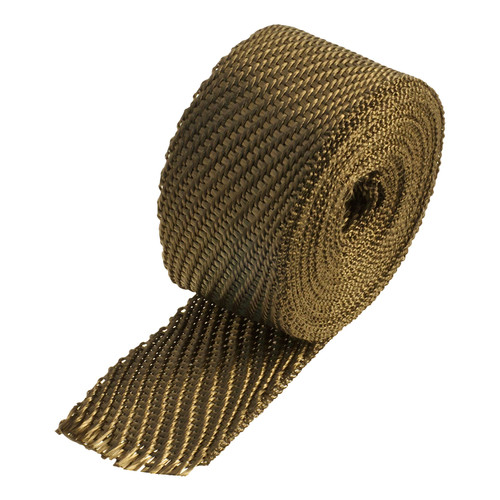 Heatshield Products Lava Exhaust Heat Wrap Heat Shield 2 Inch X 15 Foot 372005