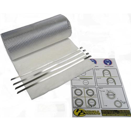 Heatshield Products Header Heat Shield Armor 1/2 Inch Thick 18 Inch X 24 Inch 177014