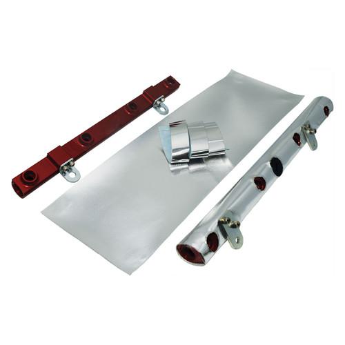 Heatshield Products Fuel Rail Heatshield Shield Kit 6X18 Inch 2 Pack 700271