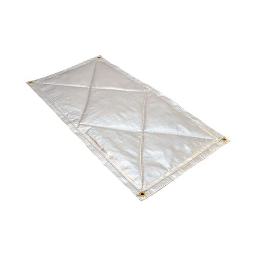 Heatshield Products HP Light Floor Heat Shield 12 Inch X 8 Inch 911208