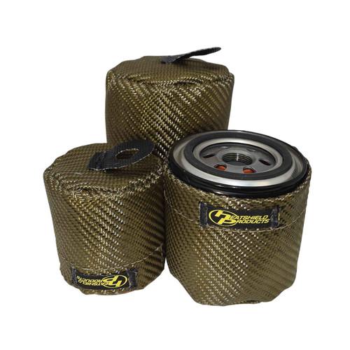 Heatshield Products Lava Oil Filter Heat Shield GM LS Series 504703