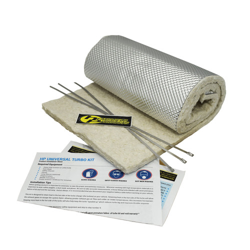 Heatshield Products Downpipe Heat Shield Armor Kit 1/2 Inch Thick 10 Inch W X 36 Inch 300002