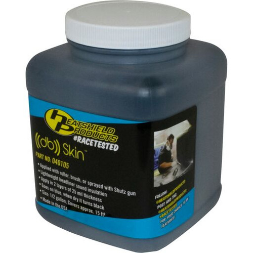 Heatshield Products db Skin Damping Coat 1/2 Gallon Covers Approx 15 SQ/FT 40105