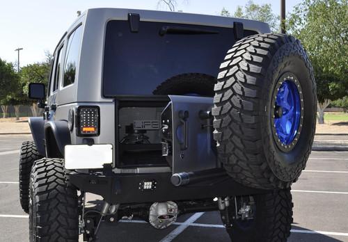 Addictive Desert Designs Rear Gate Tire Holder T95912NA01NA