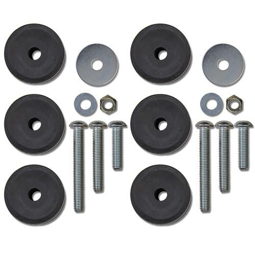 Rock Krawler 1-3 Inch Bump Stop Kit (JK Fornt, TJ/LJ Front & Rear) RK05611