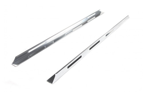 Perrycraft Truck Bed Rails 54 Inch Bright Andodized LPS (Low Profile Slotted) LPS54A