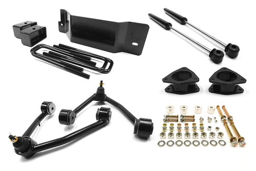 Southern Truck GM 1500 Lift Kit 3.5 Inch Fits Aluminum And Steel Knuckle Includes Shocks 07-13 Chevy Silverado/GMC Sierra 1500 4WD Southern Truck 15005