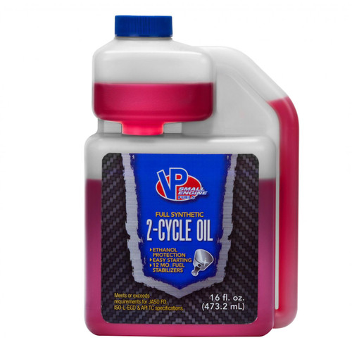 VP Racing Fuels 2 Cycle Full Synthetic Oil Mix for 6 Gal Retail Ready Case 2908