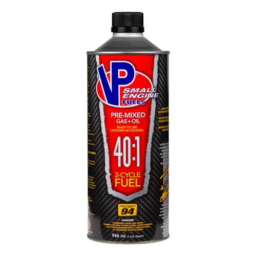 VP Racing Fuels 40:1 Premixed Case of 8/Qts of #6295 6298