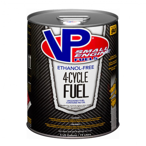 VP Racing Fuels 4 Cycle Small Engine Fuel 5 Gallon Pail 6202