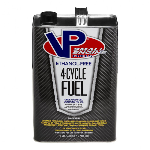 VP Racing Fuels 4 Cycle Small Engine Fuel 4/Gals of #6201 62014
