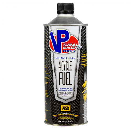 VP Racing Fuels 4 Cycle Small Engine Fuel 8/Qts of #6205 6208