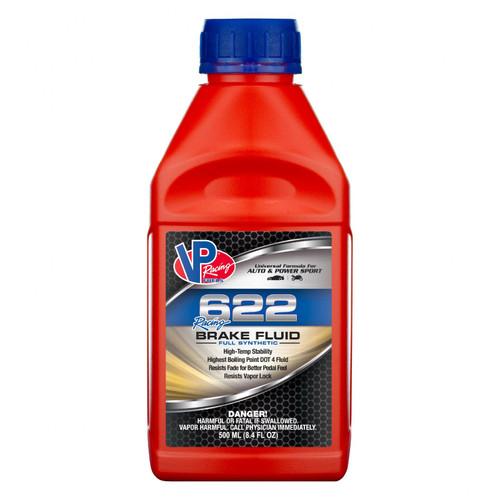 VP Racing Fuels 622 Racing Brake Fluid Case of 12/500mL 2552