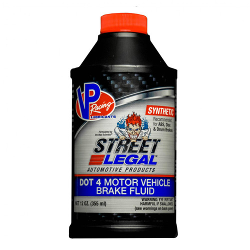 VP Racing Fuels Street Legal SYN DOT 4 Brake Fluid VP6100402