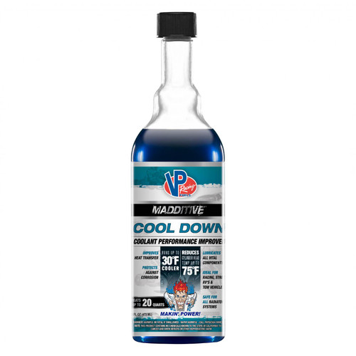 VP Racing Fuels Cool Down 16 Oz Retail Bottle Madditives 2085