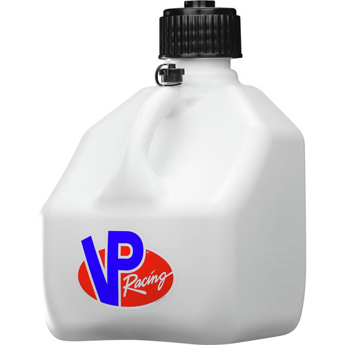 VP Racing Fuels 3 Gallon Motorsport Container Square White Case 4174