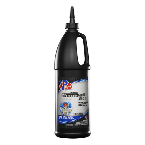 VP Racing Fuels 80W 90 Gear Oil Hi Performance1 Quart GL 5 2895