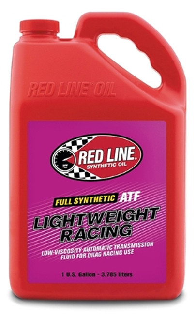 Red Line Oil Synthetic Transmission Fluid Lightweight Racing 1 Gallon Red Line Oil 30316