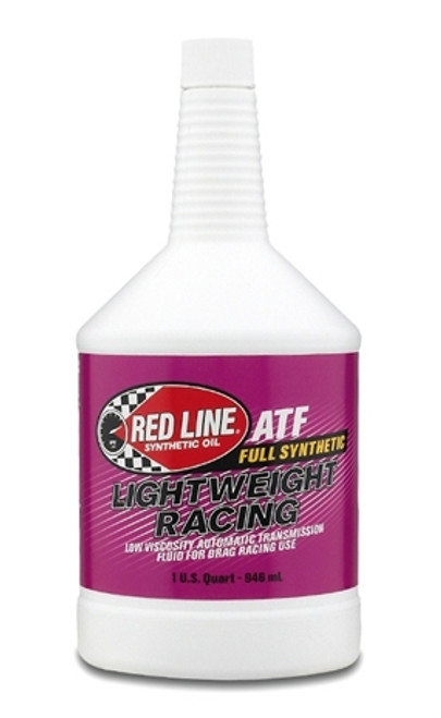 Red Line Oil Synthetic Transmission Fluid Lightweight Racing 1 Quart Red Line Oil 30314
