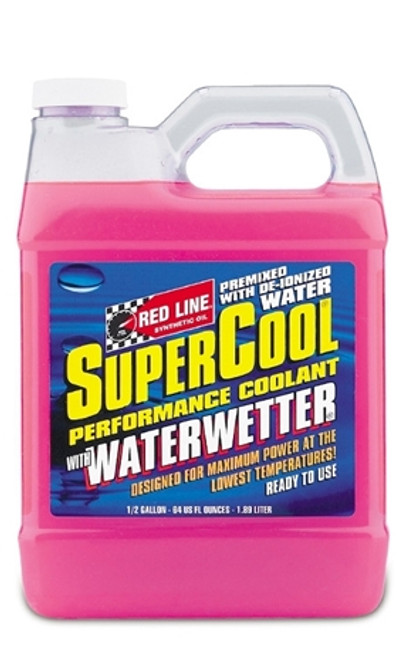 Red Line Oil Engine Coolant Additive Supercool With Waterwetter 1.2 Gallon Red Line Oil 80205