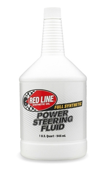 Red Line Oil Power Steering Fluid Synthetic 1 Quart Red Line Oil 30404