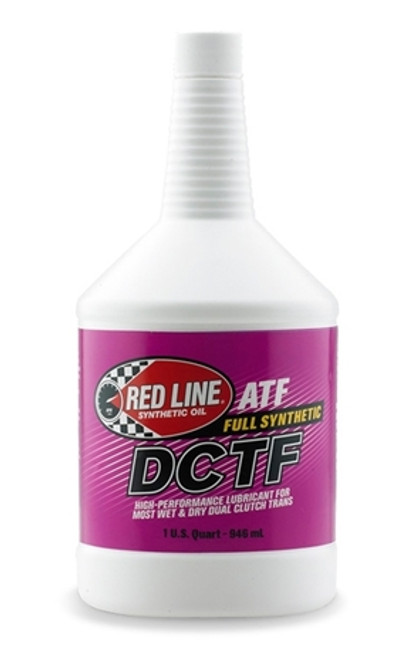 Red Line Oil DCTF Dual Clutch Transmission Fluid Synthetic 1 Quart Red Line Oil 31004