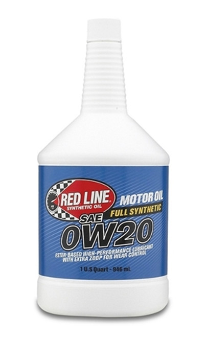 Red Line Oil 0W20 Synthetic Motor Oil 1 Quart Red Line Oil 11804