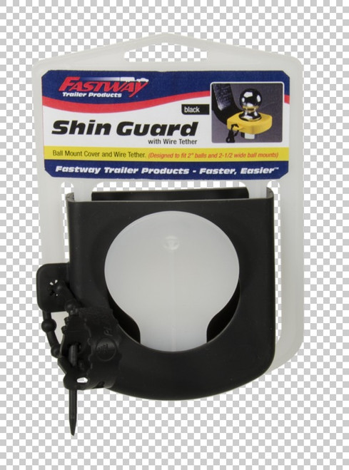 Fastway Trailer Cushioning cover for exposed ball mount saves your shins from bumps and bruises 82-00-3125