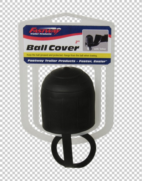 Fastway Trailer Covers 2'' ball. Keeps grease where it belongs. Tether secures while towing. 82-00-3220